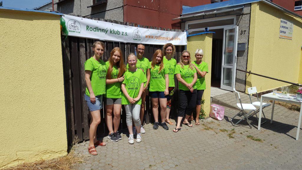 Den otevřených dveří v zeleném:-)