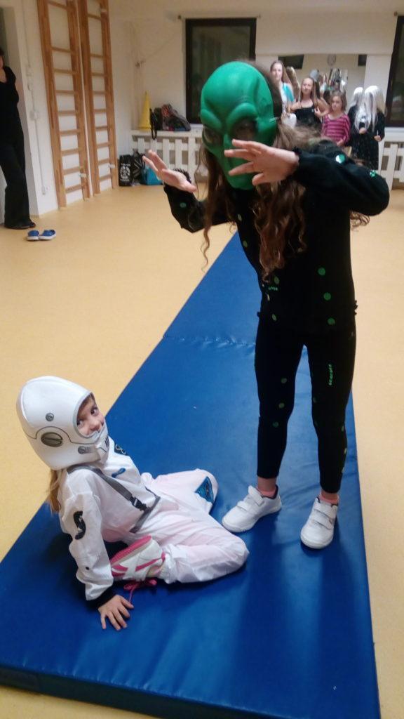 Kosmonaut a mimozemšťan